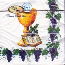 First Holy Communion Luncheon Paper Napkins