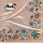 Luncheon Paper Napkin Pattern Embroidery