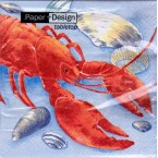 Luncheon Paper Napkin Red Lobster