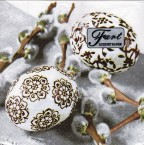 Luncheon Napkin Ornamental Eggs